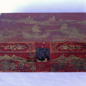 Japanned keepsake box