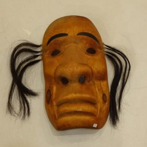 Wooden spirit mask