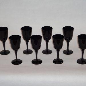 Midcentury wine glasses